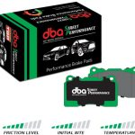 Front Golf 5 6 Scirocco DBA Brake Pads DB1849SP Street Performance