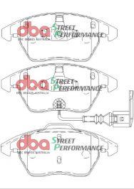 Front Golf 5 6 Scirocco DBA Brake Pads DB1849SP Street Performance