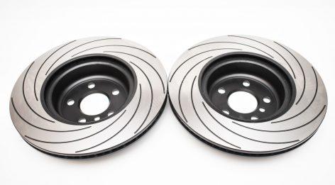 Rear TAROX F2000 Brake discs 345x24mm 5551-F2000 BMW G30 G12 G01 G02 G05