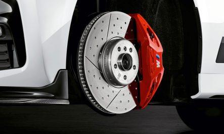 BMW M-Performance G20 sport brake retrofit kit red 4pot Brembo 374x36mm G01 G02 G29 G30 G31 G11 G01 G02 G05 New 34112450161