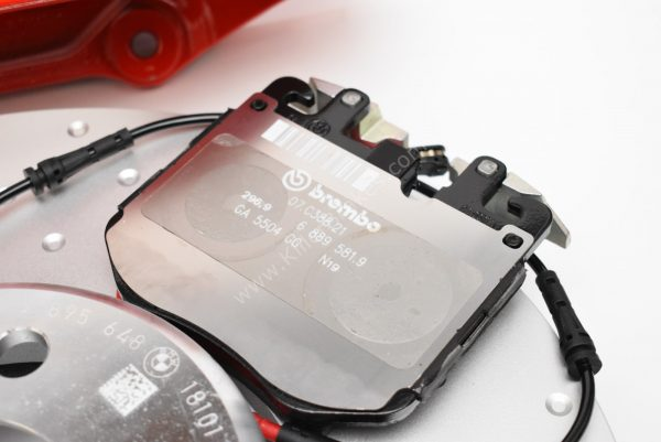 BMW M-Performance G20 sport brake retrofit kit red 4pot Brembo 374x36mm G01 G02 G29 G30 G31 G11 G01 G02 G05 New