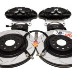 Brembo 4pot Brake kit DBA T2 340x30mm Brake discs NEW Black- 1