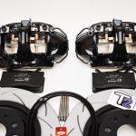 Brembo 4pot Brake kit DBA T2 340x30mm Brake discs NEW Black- 2