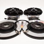 Brembo 4pot Brake kit DBA T2 340x30mm Brake discs NEW Black- 3