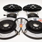 Brembo 4pot Brake kit DBA T2 340x30mm Brake discs NEW Black- 4