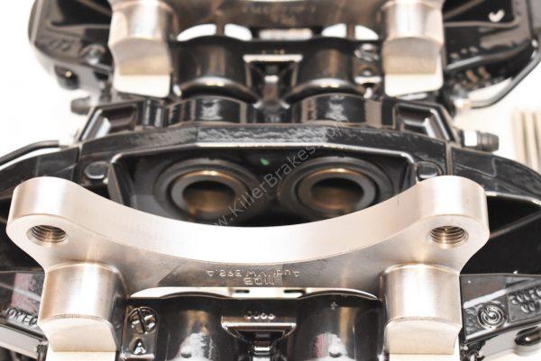 Brembo 4pot Brake kit DBA T2 340x30mm Brake discs NEW Black