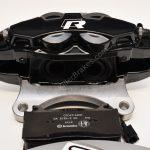 Brembo 4pot Brake kit DBA T2 340x30mm Brake discs NEW Black- 7