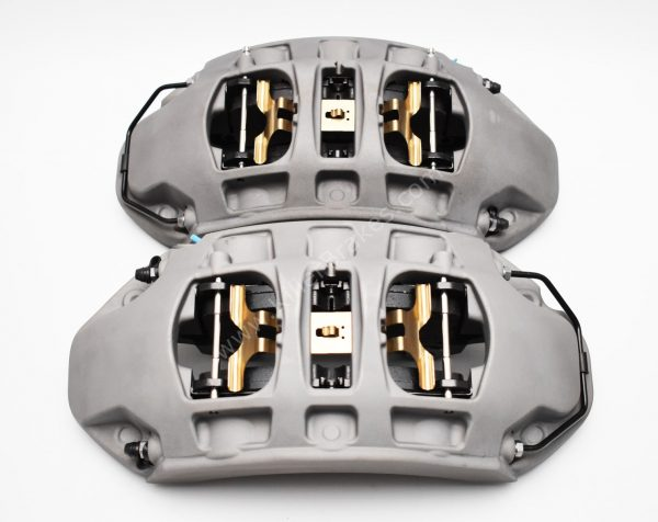 Front Audi E-Tron Brembo 6pot calipers 400x38mm 4KE615107B 4KE615108B A4 S4 A5 S5 Rs4 Rs5 B9 A6 C8 New