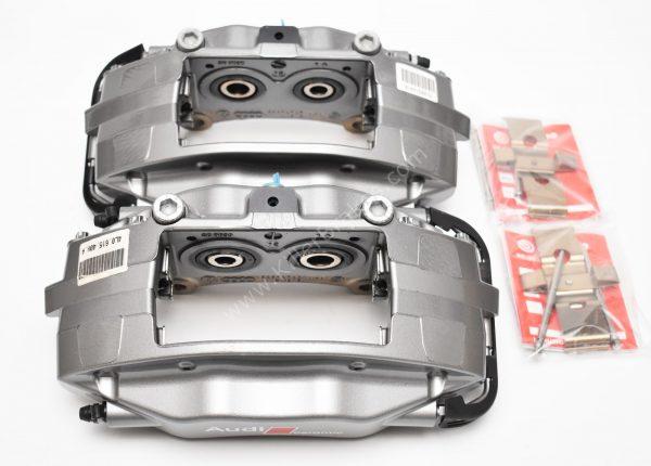 Rear Audi Q7 4L 4pot Brembo Ceramic Calipers 4L0615407B 4L0615407B 370x30mm