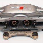 Rear Right side Audi Q7 4L 4pot Brembo Ceramic Caliper 4L0615408B 370x30mm- 3