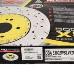 Front Audi RS6 RS7 390x36mm Wave DBA 53002WSLVXD Brake Discs 4G0615301AH NEW- 1