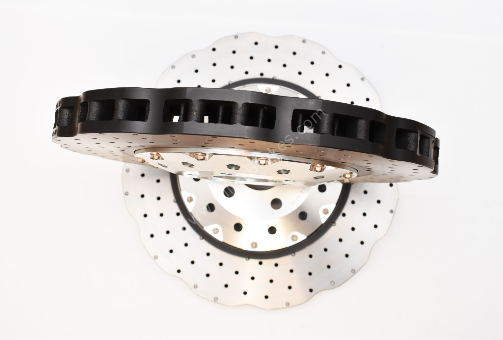 Front Audi RS6 RS7 390x36mm Wave DBA 53002WSLVXD Brake Discs 4G0615301AH NEW