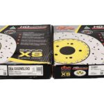 Front Audi RS6 RS7 390x36mm Wave DBA 53002WSLVXD Brake Discs 4G0615301AH NEW- 5
