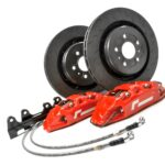 Racingline Performance Stage 2 Brake Kit 330mm Polo 6R6C A1S1 8X Ibiza 6J6P VWR65P1GT-RED