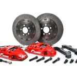 Racingline Performance Stage 2 Brake Kit 330mm Polo 6R6C A1S1 8X Ibiza 6J6P VWR65P1GT-RED 3