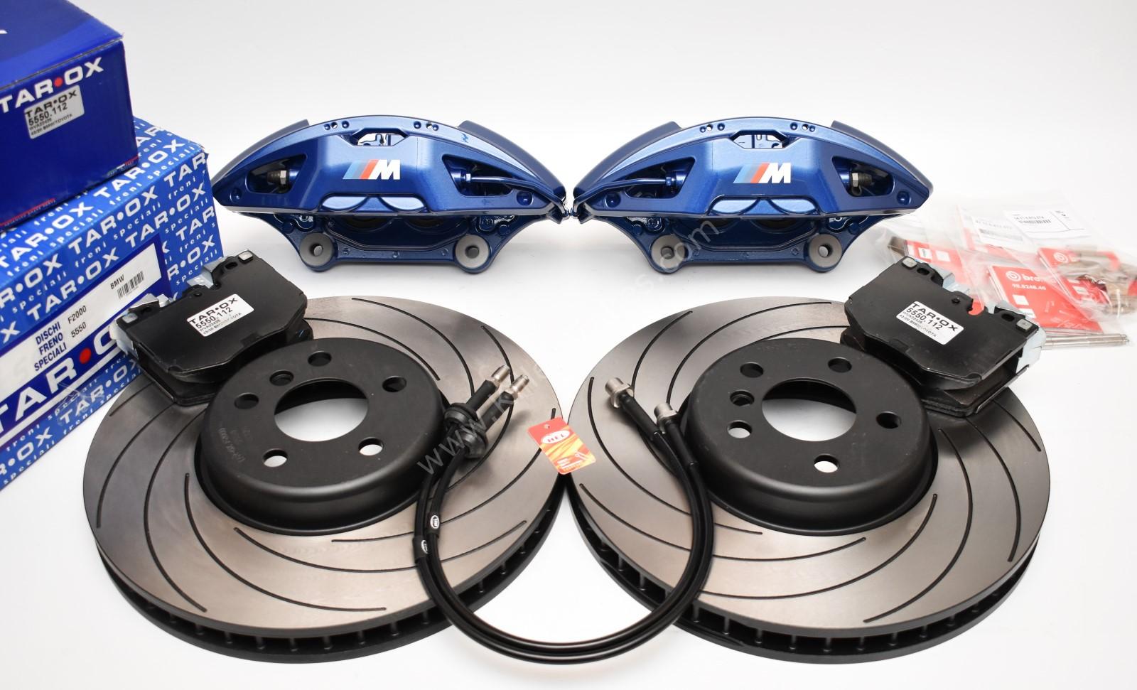 BMW M-Performance G Series Tarox retrofit kit 4pot Brembo 348x36mm G01 G02 G29 G30 G31 G11 G01 G02 G05 New