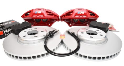BMW M-Performance G Series retrofit kit 4pot Brembo 348x36mm G01 G02 G29 G30 G31 G11 G01 G02 G05 New