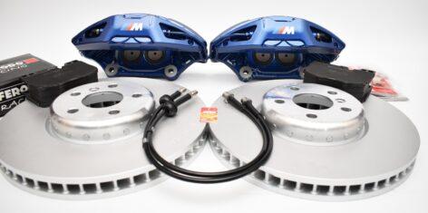 BMW M-Performance G Series retrofit kit 4pot Brembo 348x36mm G01 G02 G29 G30 G31 G11 G01 G02 G05 New
