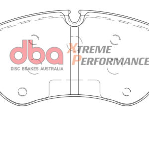 Front Volkswagen Amarok v6 DBA Brake Pads DB15001XP Xtreme Performance 2H6698151A ECE R90 certified