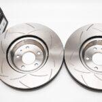 Front DBA 3016S Slotted T2 Brake Discs Audi S4 S5 B9 Audi A6 C8 350x34mm – 3