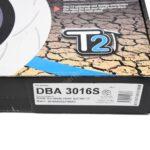 Front DBA 3016S Slotted T2 Brake Discs Audi S4 S5 B9 Audi A6 C8 350x34mm – 4