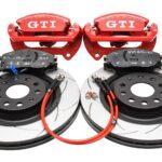 Front Golf 7 GTI R Seat Cupra S3 8v Brake Kit Red New