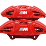 Front M Performance Red Calipers 4pot 348x36mm Brembo 34116891283 34116891284 – 1
