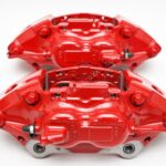Front M Performance Red Calipers 4pot 348x36mm Brembo 34116891283 34116891284 – 5