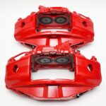 Front M Performance Red Calipers 4pot 348x36mm Brembo 34116891283 34116891284 – 7