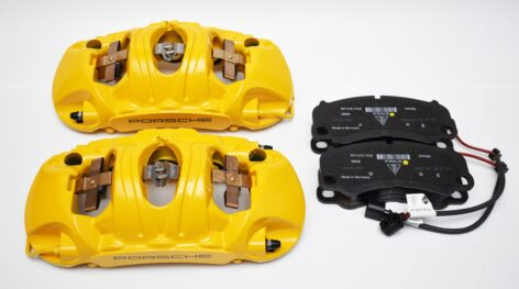 Front Porsche 991 GT3 GT3RS GT2RS Ceramic Calipers Brembo 99135142986 99135143086 99135142985 99135143085
