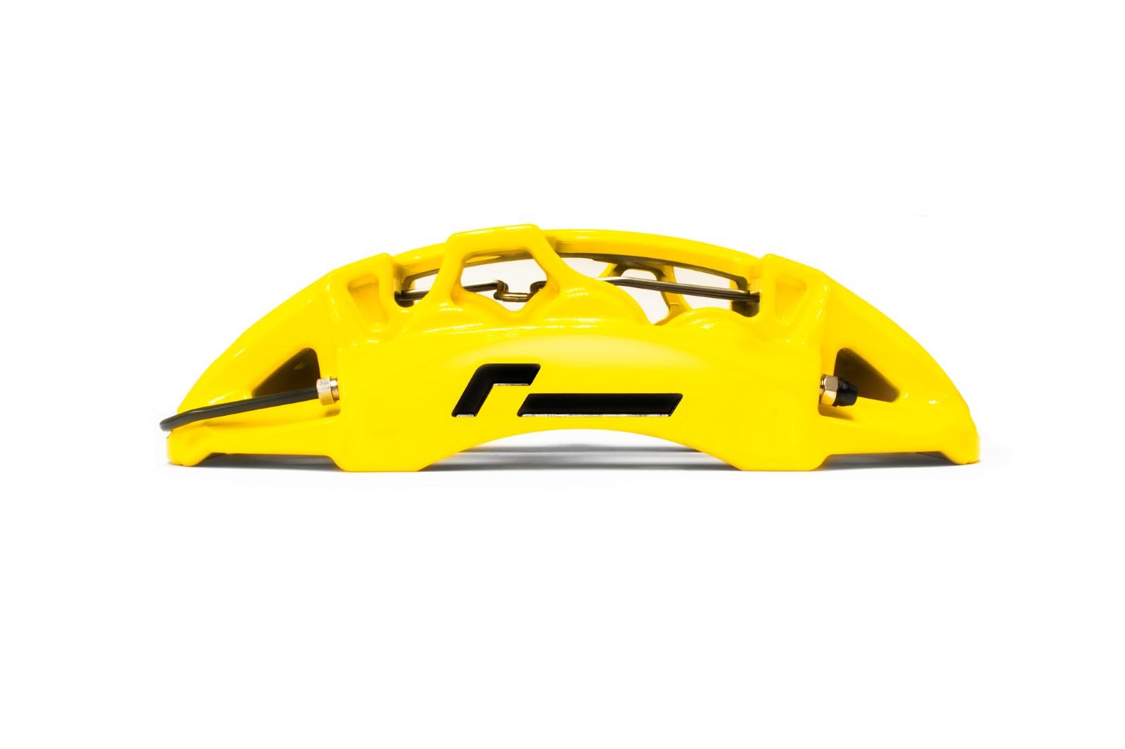 Racingline Performance Stage 3+ Carbon Ceramic Brake Kit 380mm MQB Cars VWR651000-YEL