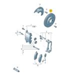 Front Volkswagen Amarok V6 DBA Brake Discs 2776S 332x30mm Street Series T2 2H6615301