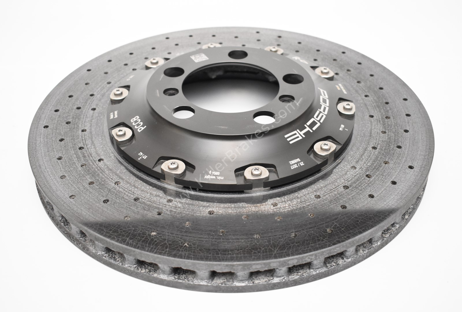 Used Front Porsche 991 GT3 GT3RS GT2RS Ceramic Brake Disc 410x36mm Right Side 99135140885