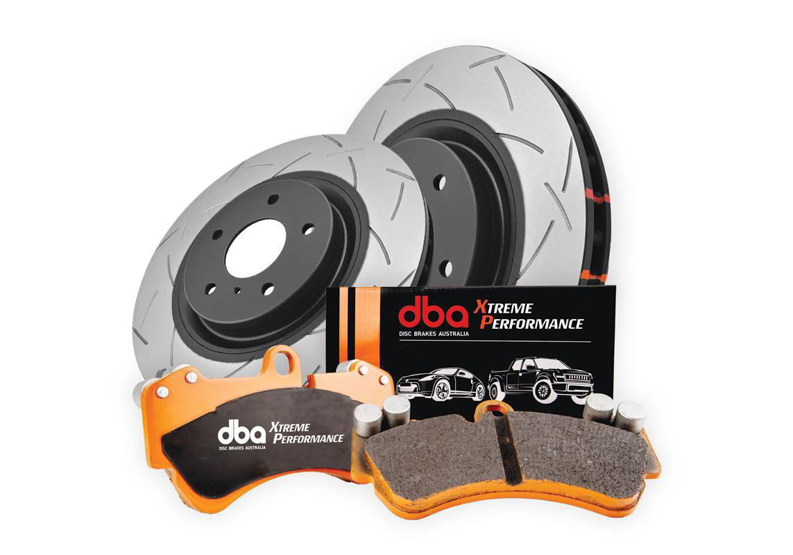 Front DBA 42830S 8849XP Xtreme Performance Combo Pack