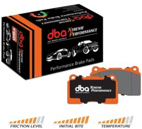 Front Golf 7 Audi A3 8v DBA Brake Pads DB2383XP Xtreme Performance