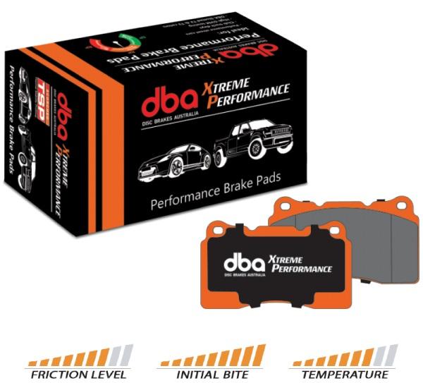 Front Golf 7 Audi A3 8v DBA Brake Pads DB2383XP Xtreme Performance
