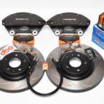 Audi A4 A5 S4 S5 B8 Brake Kit Porsche Macan Brembo 4pot DBA 345x30mm Slotted discs NEW- 3