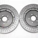 Audi RS7 4G Rear Brake Discs Ceramic 4G8615601C 4G8615601D 4G8615602C 4G8615602D New- 1