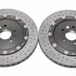 Audi RS7 4G Rear Brake Discs Ceramic 4G8615601C 4G8615601D 4G8615602C 4G8615602D New- 4