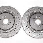 Audi RS7 4G Rear Brake Discs Ceramic 4G8615601C 4G8615601D 4G8615602C 4G8615602D New- 5