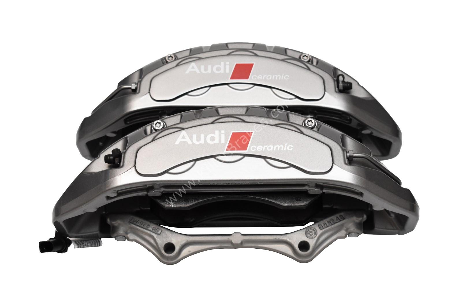 Audi Rs4 RS5 B9 Front Carbon Ceramic Brake Calipers 8W0615107K 8W0615108K NEW