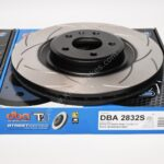 Audi S4 S5 B8 Front DBA 2832S 345x30mm Brake Discs T2 Series Slotted New- 4