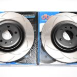 Audi S4 S5 B8 Front DBA 2832S 345x30mm Brake Discs T2 Series Slotted New- 5