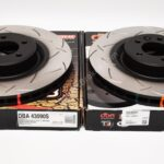 Front DBA 43090S Slotted T3 Brake Discs Range Rover Sport 380x34mm- 1