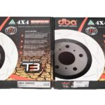 Front DBA 43090S Slotted T3 Brake Discs Range Rover Sport 380x34mm