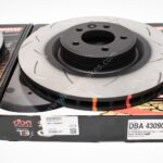 Front DBA 43090S Slotted T3 Brake Discs Range Rover Sport 380x34mm- 3