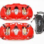 Front Porsche 991 GT3 GT3RS GT2RS Metallic 6pot Calipers Red Brembo 99135142786 99135142886 99135194783- 3