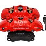 Front Porsche 991 GT3 GT3RS GT2RS Metallic 6pot Calipers Red Brembo 99135142786 99135142886 99135194783- 4