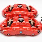 Front Porsche 991 GT3 GT3RS GT2RS Metallic 6pot Calipers Red Brembo 99135142786 99135142886 99135194783- 7