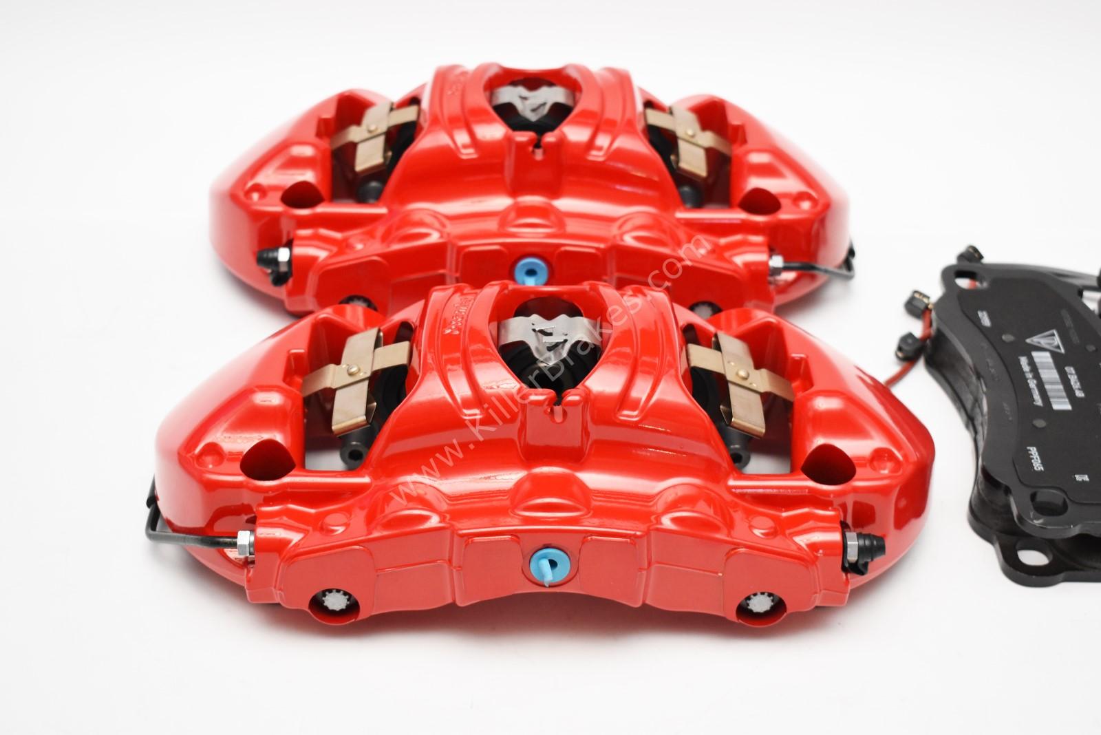 Front Porsche 991 GT3 GT3RS GT2RS Metallic 6pot Calipers Red Brembo 99135142786 99135142886 99135194783